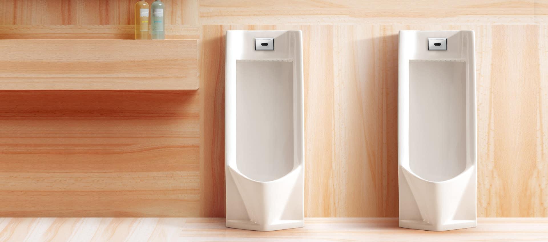 Ceramic Sensor Urinal Flush Solution
