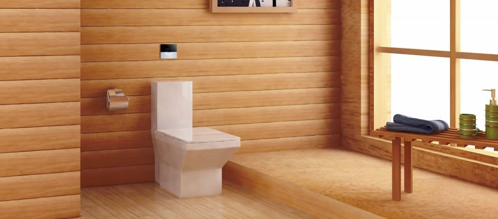 Concealed automatic toilet flush solution