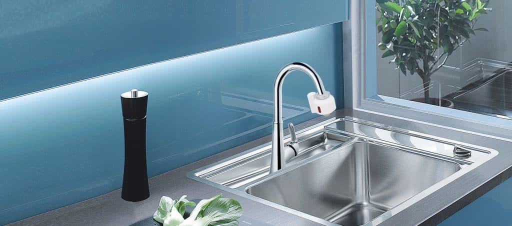 Diy touchless kitchen faucet solution