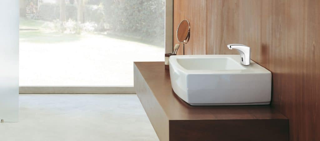 TOUCHLESS BATHROOM COLD WATER FAUCET SOLUTION