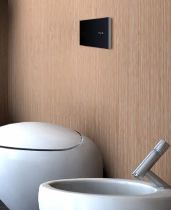 automatic toilet concealed cistern solution