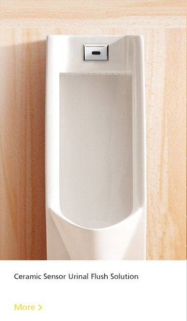 ceramic sensor urinal flush solution