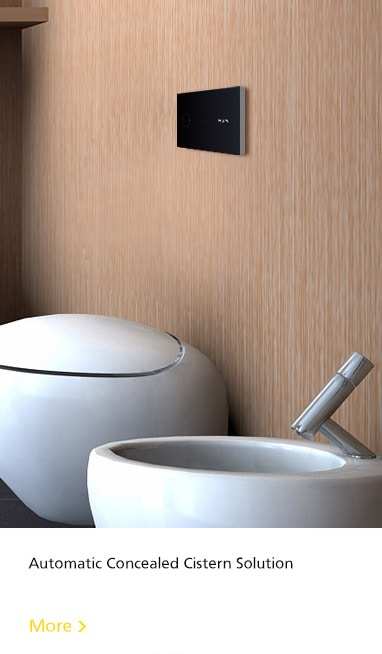 automatic concealed cistern solution