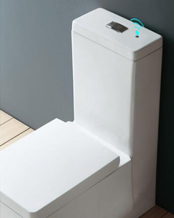 wave touchless modern toilet flush