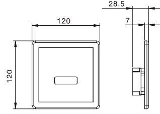 Auto Urinal Flusher KEG-1033AD