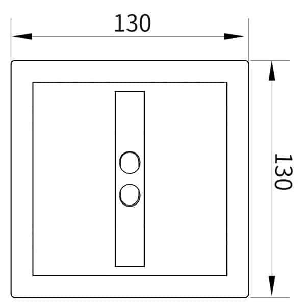 Auto Urinal Flusher Valve KEG-1012AD