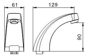 Automatic Sensor Faucet KEG-822D/A/AD