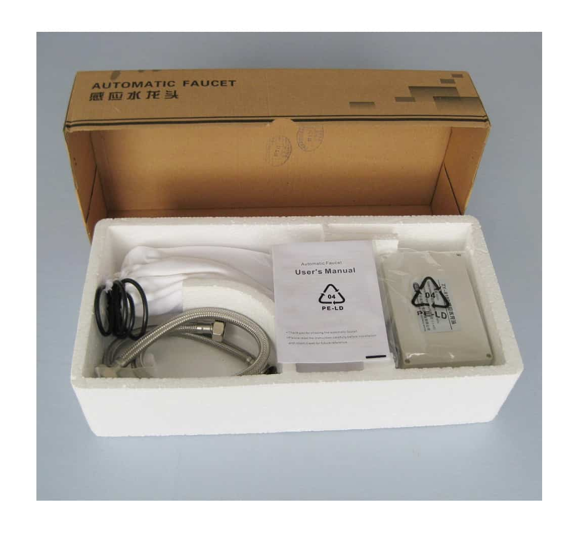 Automatic Sensor Faucet KEG-825 packing