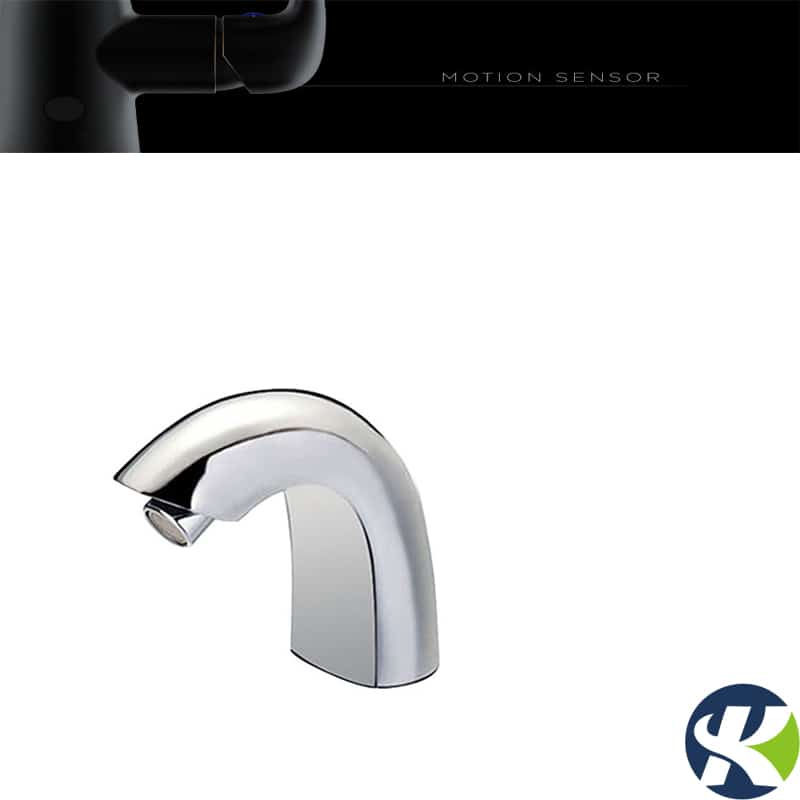 Automatic touchless faucet mouth sensor