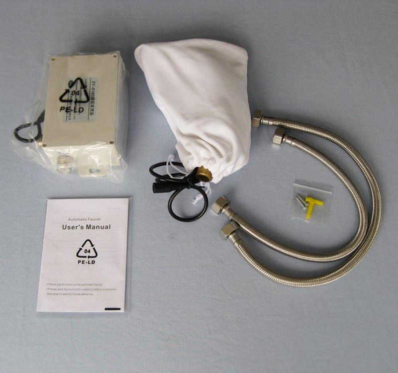 Automatic basin faucet KEG-818 total set