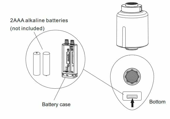 battery-installation-touchless-faucet-adapter