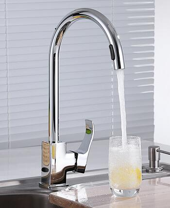 stainless steel touchless kitchen faucet