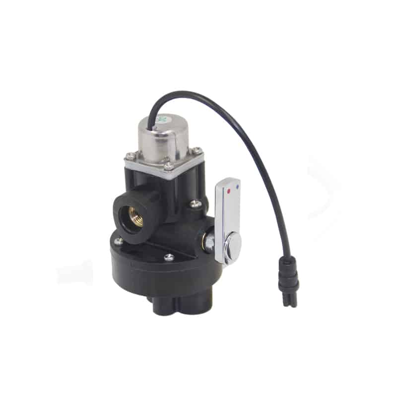Solenoid valve for touchless bathroom faucets KEG-8907