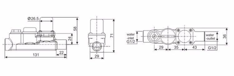 Solenoid Valve KEG-F03A sizes