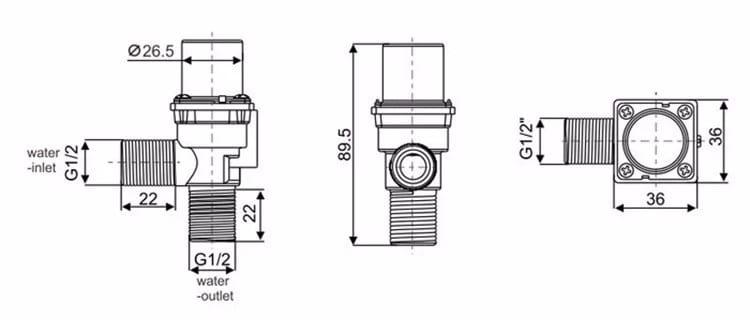 Solenoid Valve KEG-F09A sizes