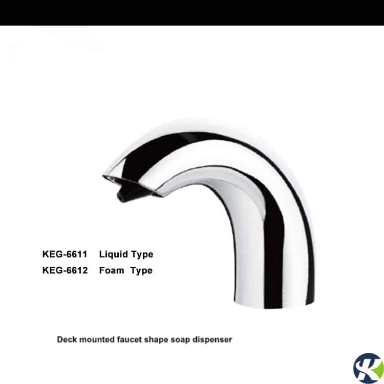 Deck Mounted Automatic Soap Dispenser KEG-6611&6612