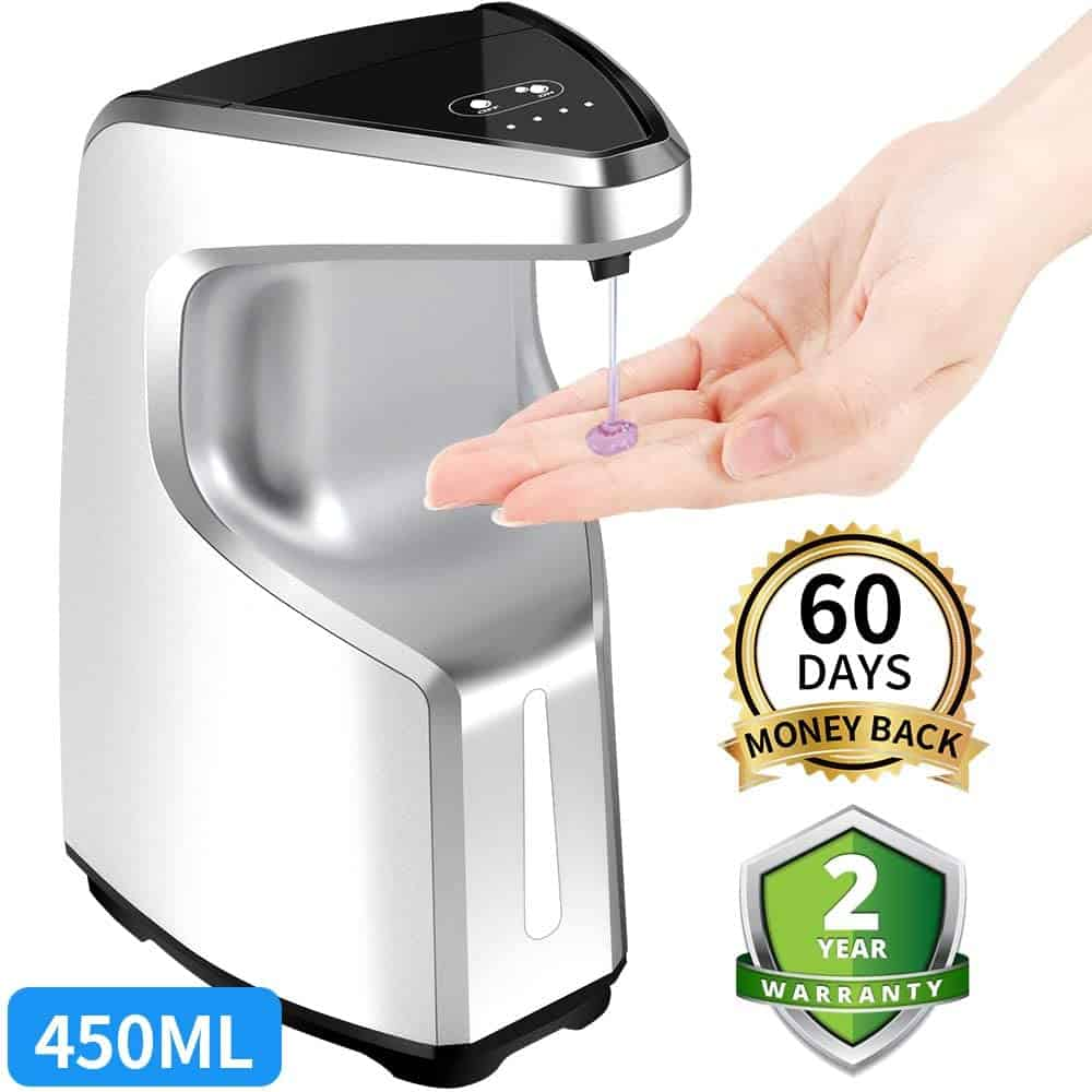 AFMAT Touchless 450ml Soap Dispenser Battery-Operated