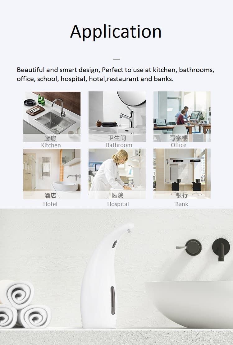Application Foaming Automatic Soap Dispenser KEG-1805A