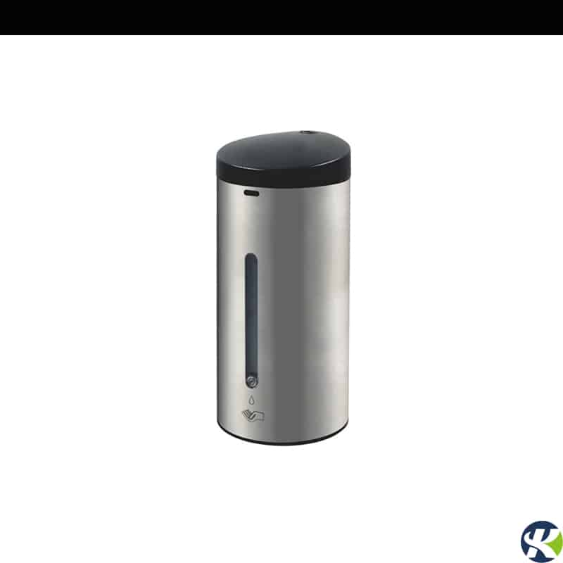 Brushed stainless steel wall mounted touchless soap dispenser keg-610