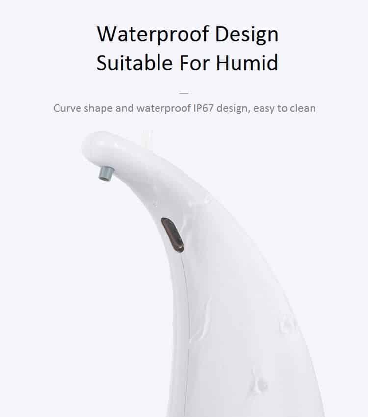 Waterproof Design Automatic Soap Dispenser KEG-1805A
