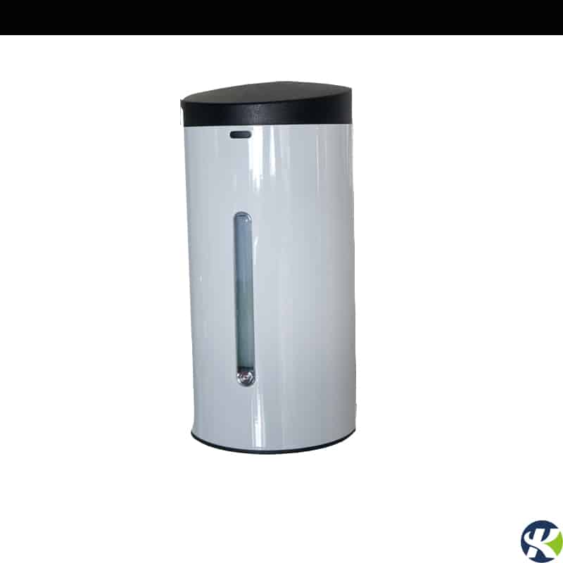 White stainless steel wall mounted touchless soap dispenser keg-610