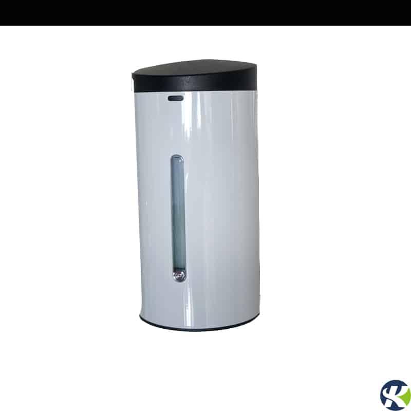 White stainless steel wall mounted touchless soap dispenser keg-610