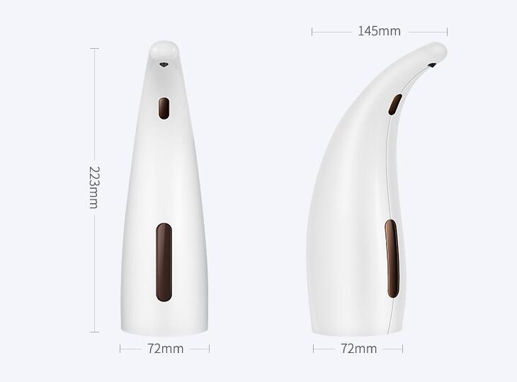 size white automatic soap dispenser keg-805a