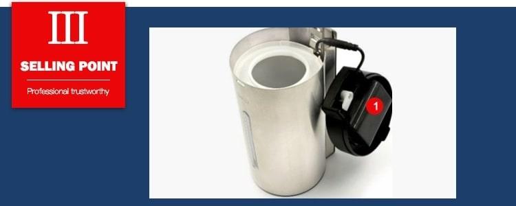Selling point 3 stainless steel wall mounted sensor dispenser
