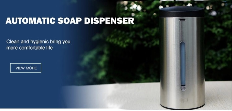 stainless steel automatic soap dispenser keg-610.jpg