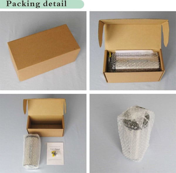 touchless soap dispenser KEG-610 packing details